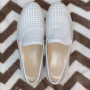 Via Spiga size 7M white leather sneaker